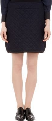 Sacai Luck Grosgrain-Trim Quilted Mini-Skirt