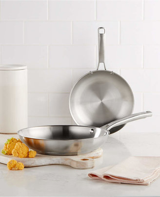 "Calphalon Classic Stainless Steel 8"" & 10"" Fry Pan Set"