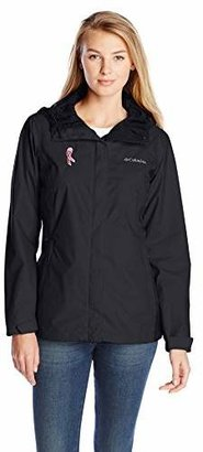 Columbia Women's Tested Tough In Pink Rain Jacket Ii $55.99 thestylecure.com