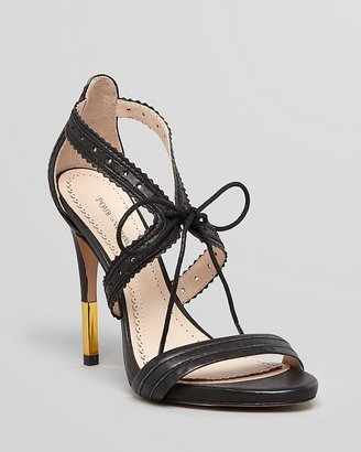 Pour La Victoire Banded Open Toe Sandals - Shanna High Heel