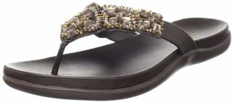 Kenneth Cole REACTION Women's Glam-a-thon Flat Sandal $20.83 thestylecure.com