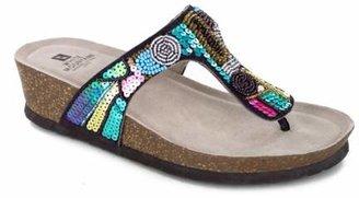 White Mountain Cordoba Wedge Sandal