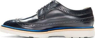 Paul Smith Black & Blue Stacked Grand Brogues