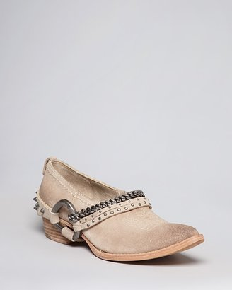 Zadig & Voltaire Ankle Booties - Parke Harness Flat