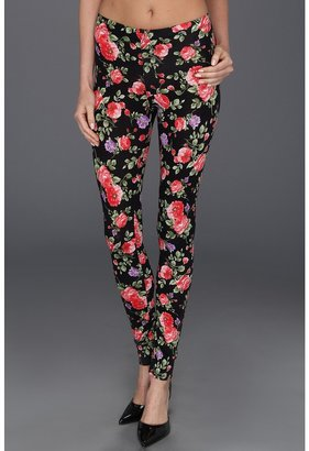 Gabriella Rocha Turmi Floral Print Legging (Black) - Apparel
