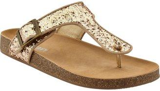 Old Navy Girls Glitter-Thong Sandals