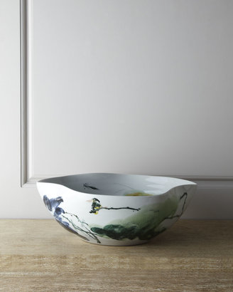 John-Richard Collection Large Curled-Rim Bowl