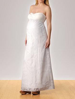 Lilly Pulitzer Apeainthepod Strapless Empire Seam Maternity Maxi Dress