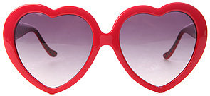 Vans The Heart Sunglasses in Scarlet