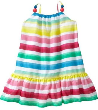 Old Navy Multi-Stripe Gauze Dresses for Baby