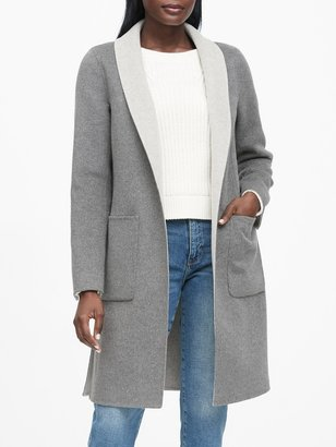 Banana Republic Reversible Car Coat