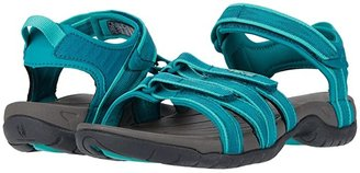 Teva Tirra (Black/White Multi) Women's Sandals