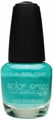 L.A. Colors Color Craze Nail Polish Sea Foam
