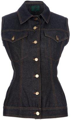 Jean Paul Gaultier Vintage sleeveless denim jacket