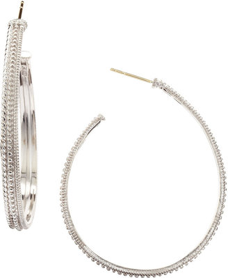 Judith Ripka Marina Hoop Earrings