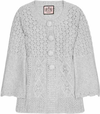Juicy Couture Mixed knit cardigan
