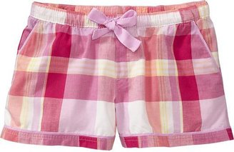 "Old Navy Women's Printed Poplin Lounge Shorts (2 1/2"")"