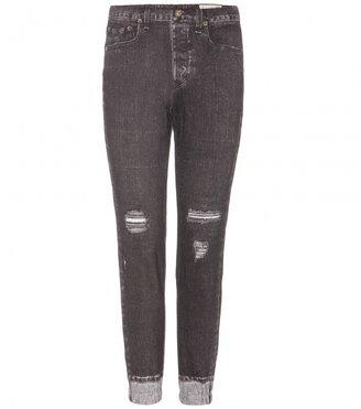 Rag and Bone Rag & Bone Mirmar jean-print track pants