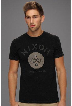 Nixon Bones S/S Tee (Black/Charcoal) - Apparel