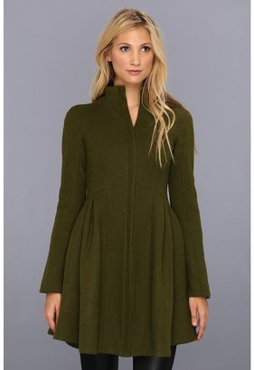 Nanette Lepore Skyscape Coat (Olive) - Apparel