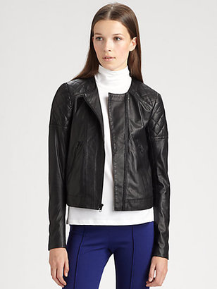Theory Maise Leather Jacket