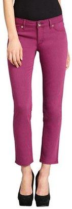 DL1961 Premium Denim plum stretch denim 'Angel' skinny ankle jeans