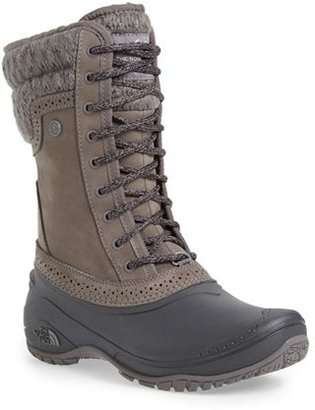 Women's The North Face Shellista Waterproof Insulated Snow Boot $139.95 thestylecure.com