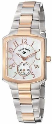 Philip Stein Teslar Women's 21TRG-FW-SSTRG Classic Two-Tone Plated Two-Tone Bracelet Watch