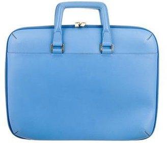 Smythson Textured Laptop Bag