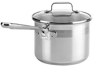 Emerilware Emeril by All-Clad Stainless Steel 3 Qt. Covered Saucepan