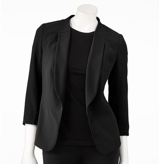 Lauren Conrad solid blazer