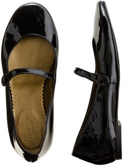 J.Crew Girls' patent leather Mary Janes