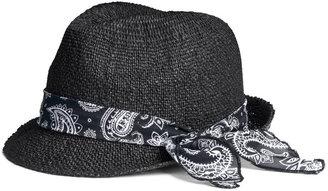 H&M Straw Hat - Black - Ladies