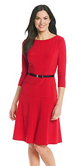 Anne Klein Jersey Swing Dress