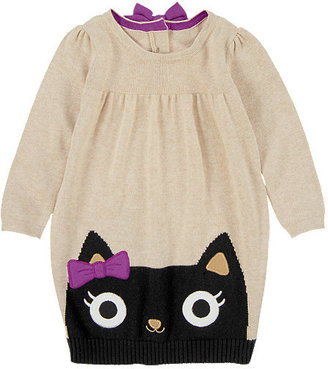 Gymboree Bow Kitty Sweater Dress