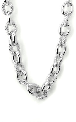 Judith Ripka Small Open Link Necklace