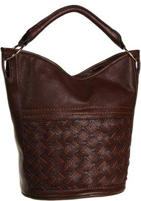 Melie Bianco Blair Bucket Bag (Brown) - Bags and Luggage
