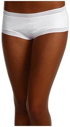 OnGossamer Cabana Cotton Boyshort 025973 (Black) Women's Underwear