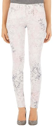 J Brand 620 Mid Rise Super Skinny Jean In Ghost Rose