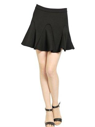 Rebecca Minkoff Neoprene Godet Skirt