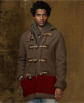 Denim & Supply Ralph Lauren Coat, Double Knit Coat
