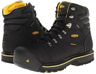Keen Milwaukee WP (Black) Men's Work Lace-up Boots