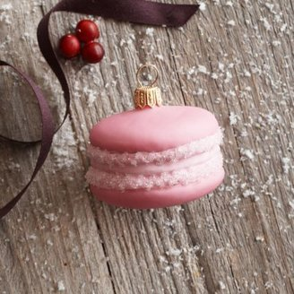 Sur La Table Pink Macaron Ornament