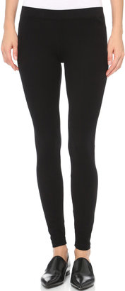 James Perse Brushed Jersey Leggings $73 thestylecure.com