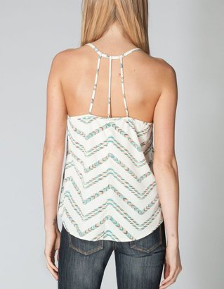 Full Tilt Ethnic Chevron Womens Tank