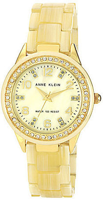 AK Anne Klein Anne Klein Faux-Horn Watch