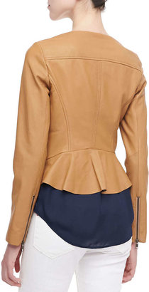 Joie Emelyn Short Leather Jacket