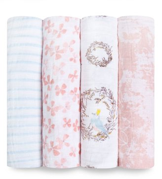 Aden Anais Set of 4 Classic Swaddling Cloths