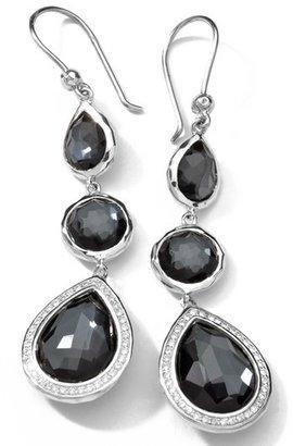 Ippolita 'Stella' Triple Drop Earrings with Diamonds