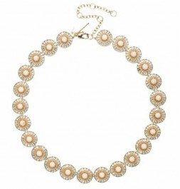 Charm & Chain Lele Sadoughi Sundial Necklace